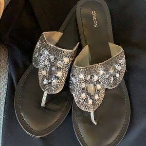 Chico's bling sandals